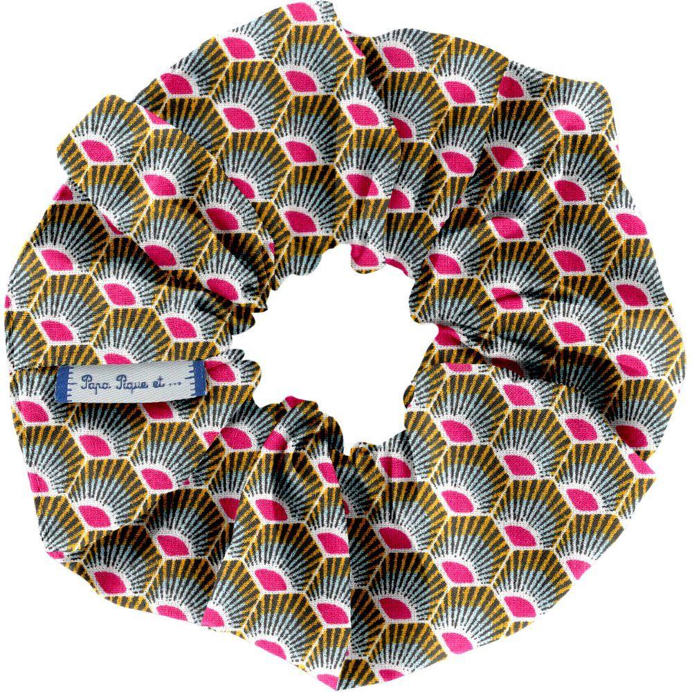 Scrunchie palmette