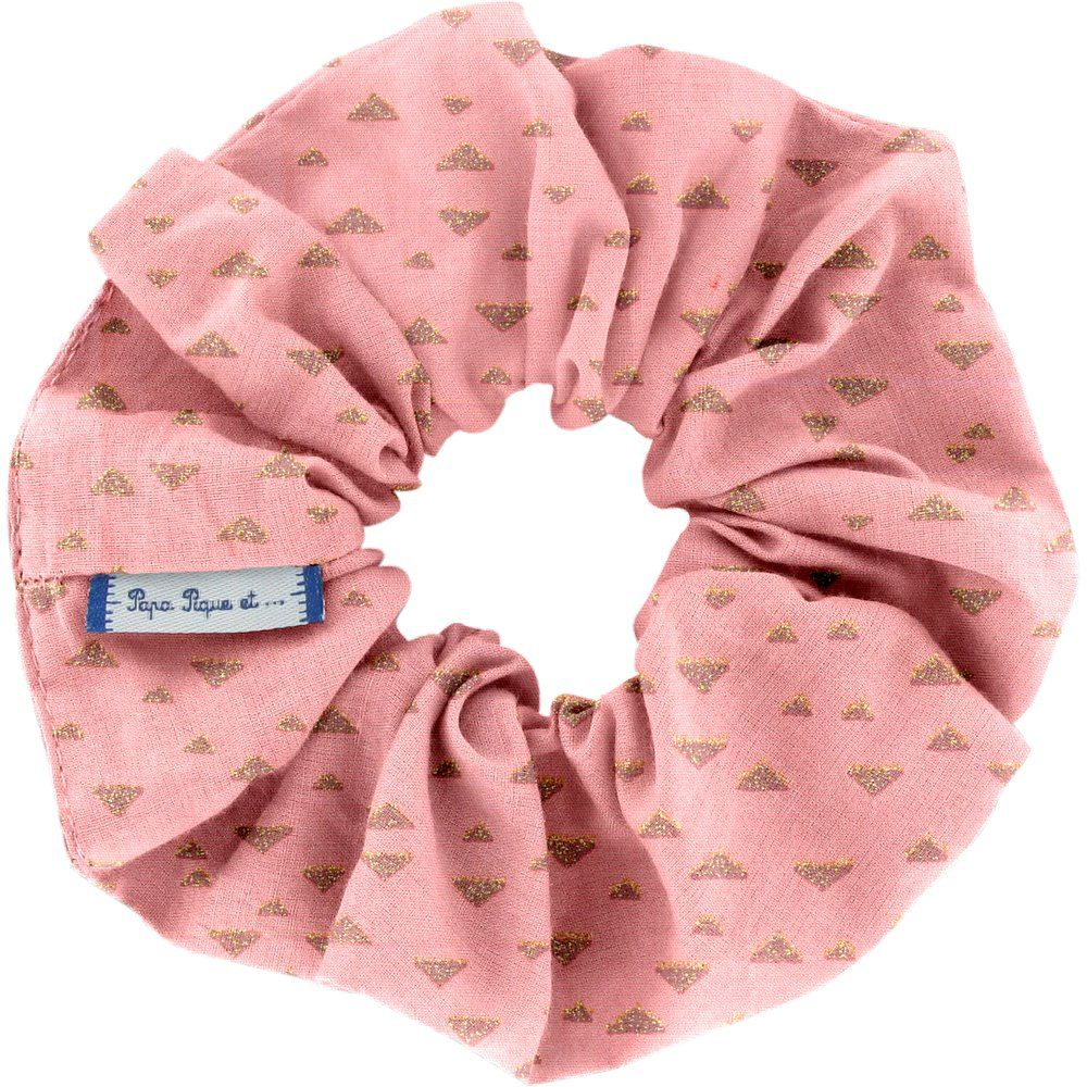 Scrunchie triangle or poudré
