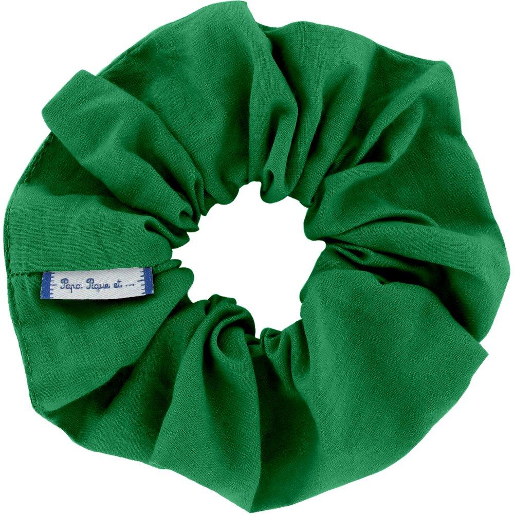 Scrunchie bright green