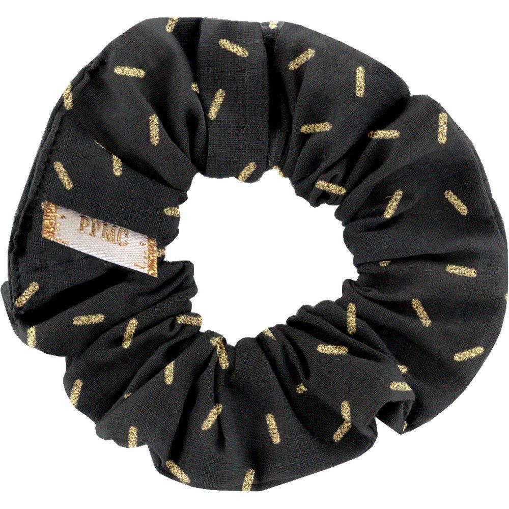 Small scrunchie golden straw