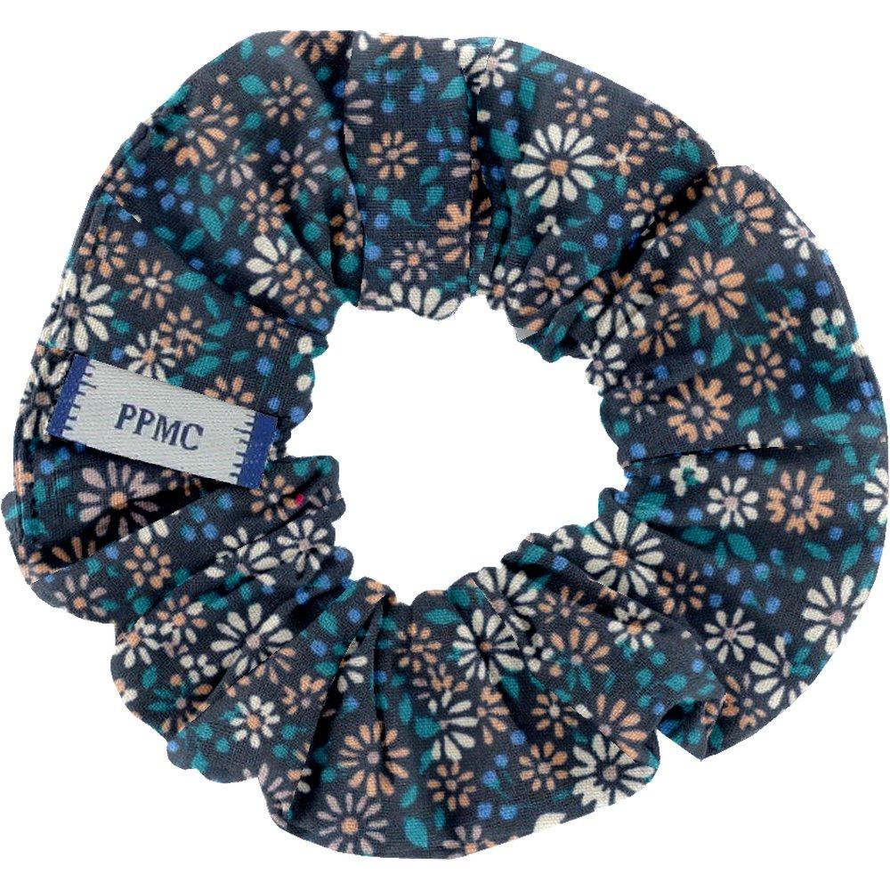 Small scrunchie paquerette marine
