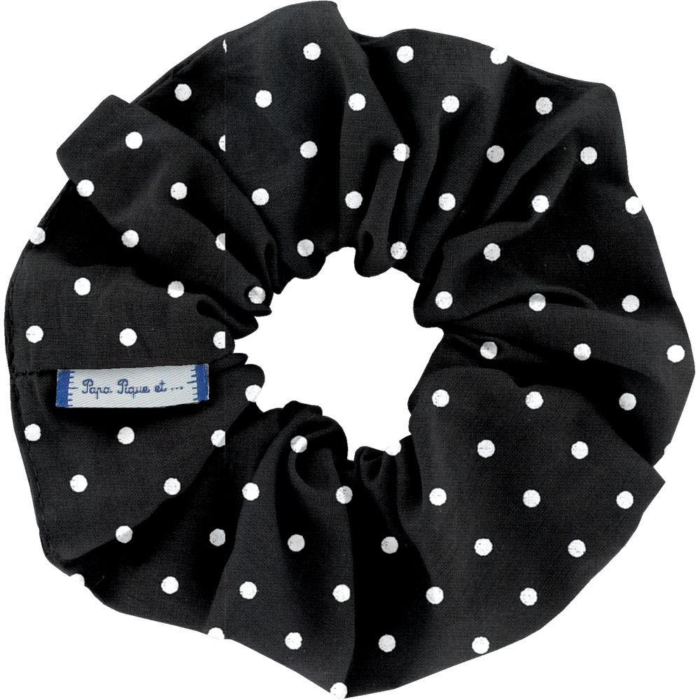 Scrunchie black spots