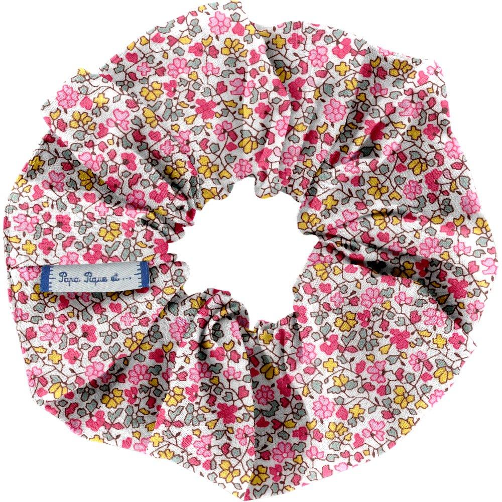 Scrunchie pink jasmine