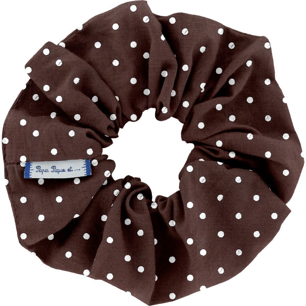 Scrunchie brown spots