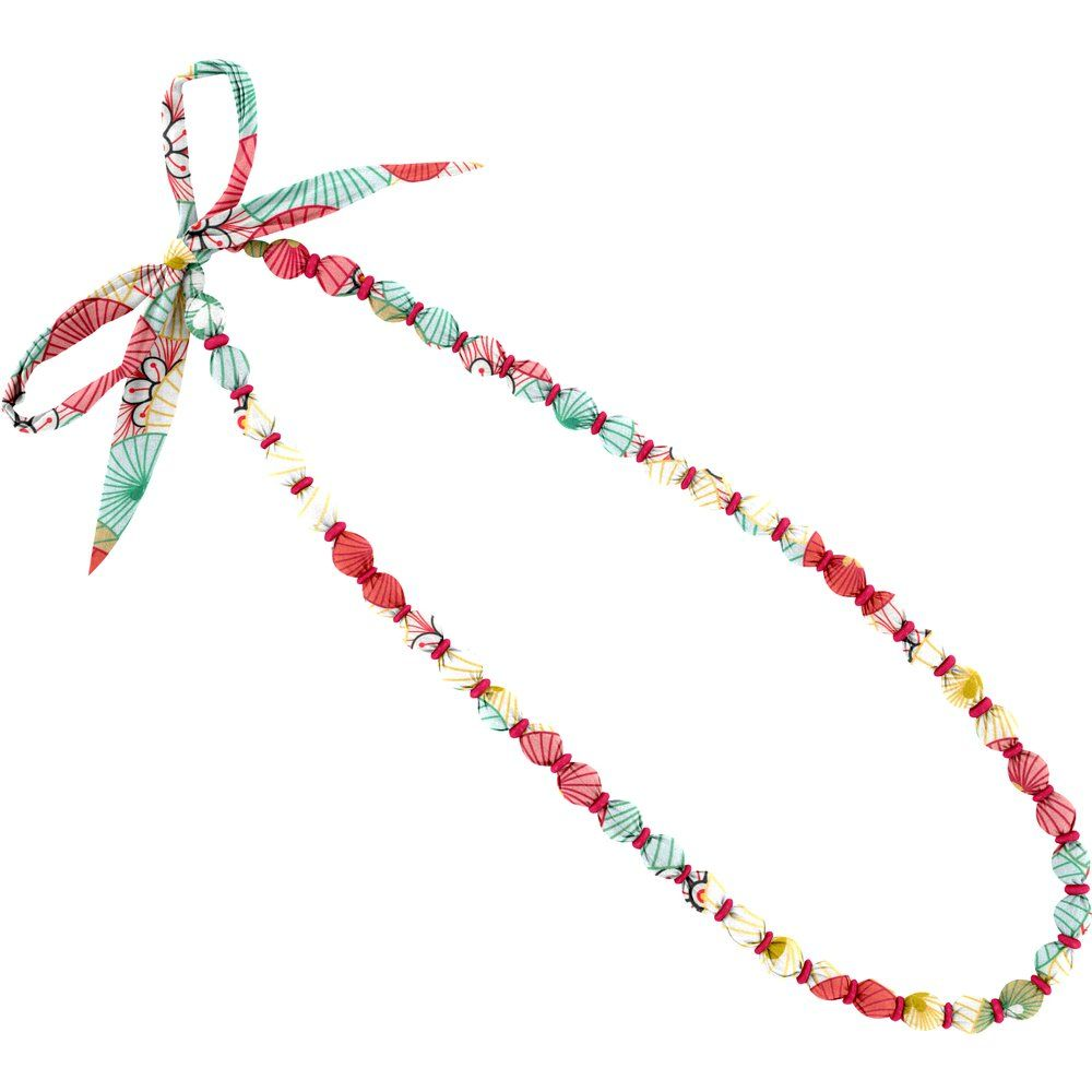 Collier sautoir perles ombrelles