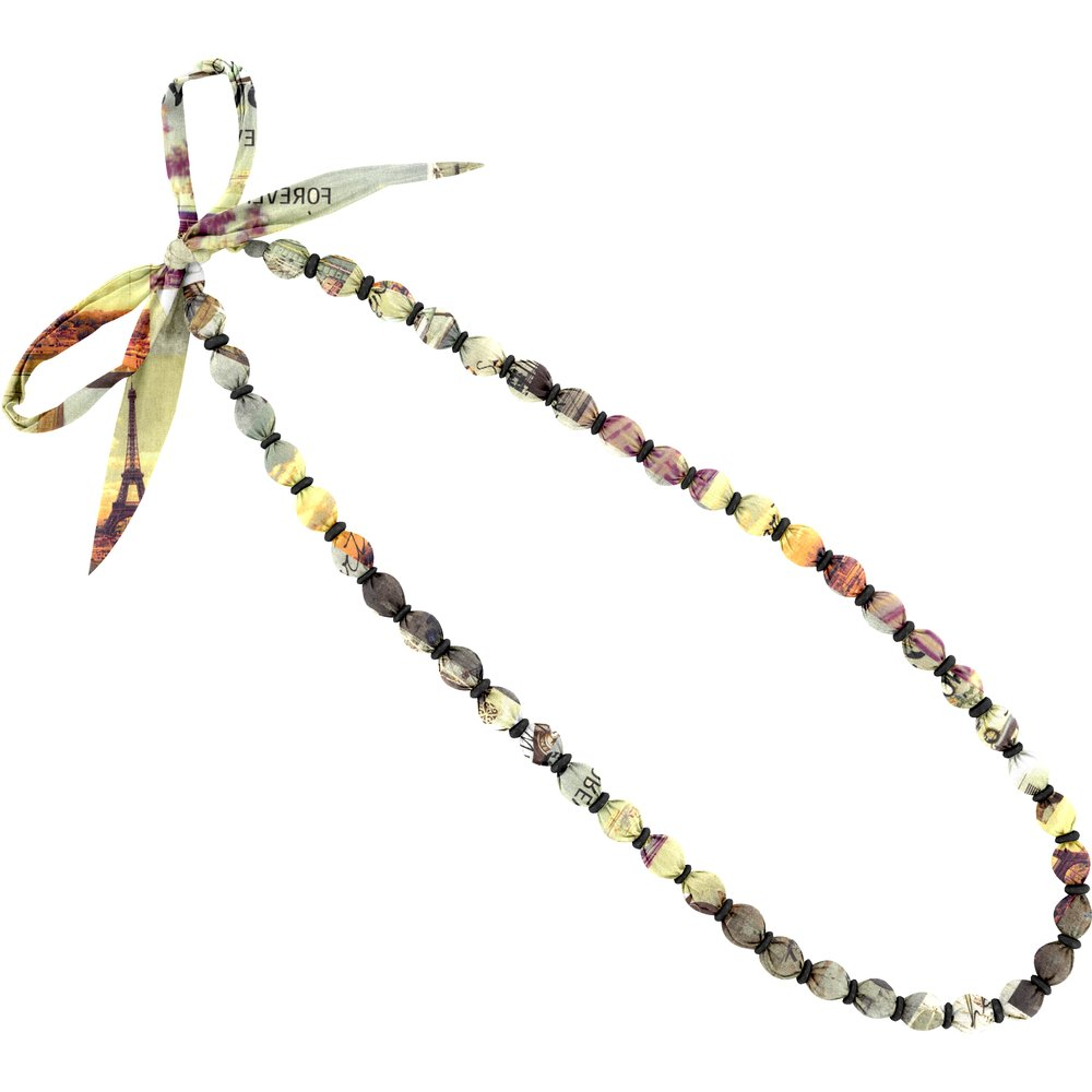 Collier sautoir perles  vintage