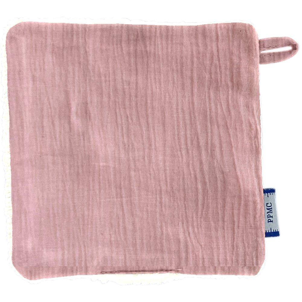 Makeup Remover cotton pale pink gauze