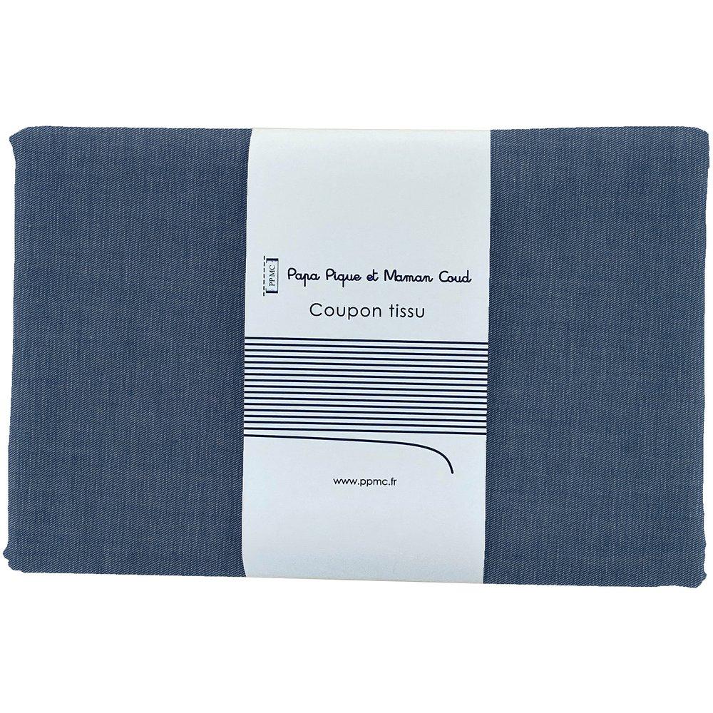 1 m fabric coupon light denim