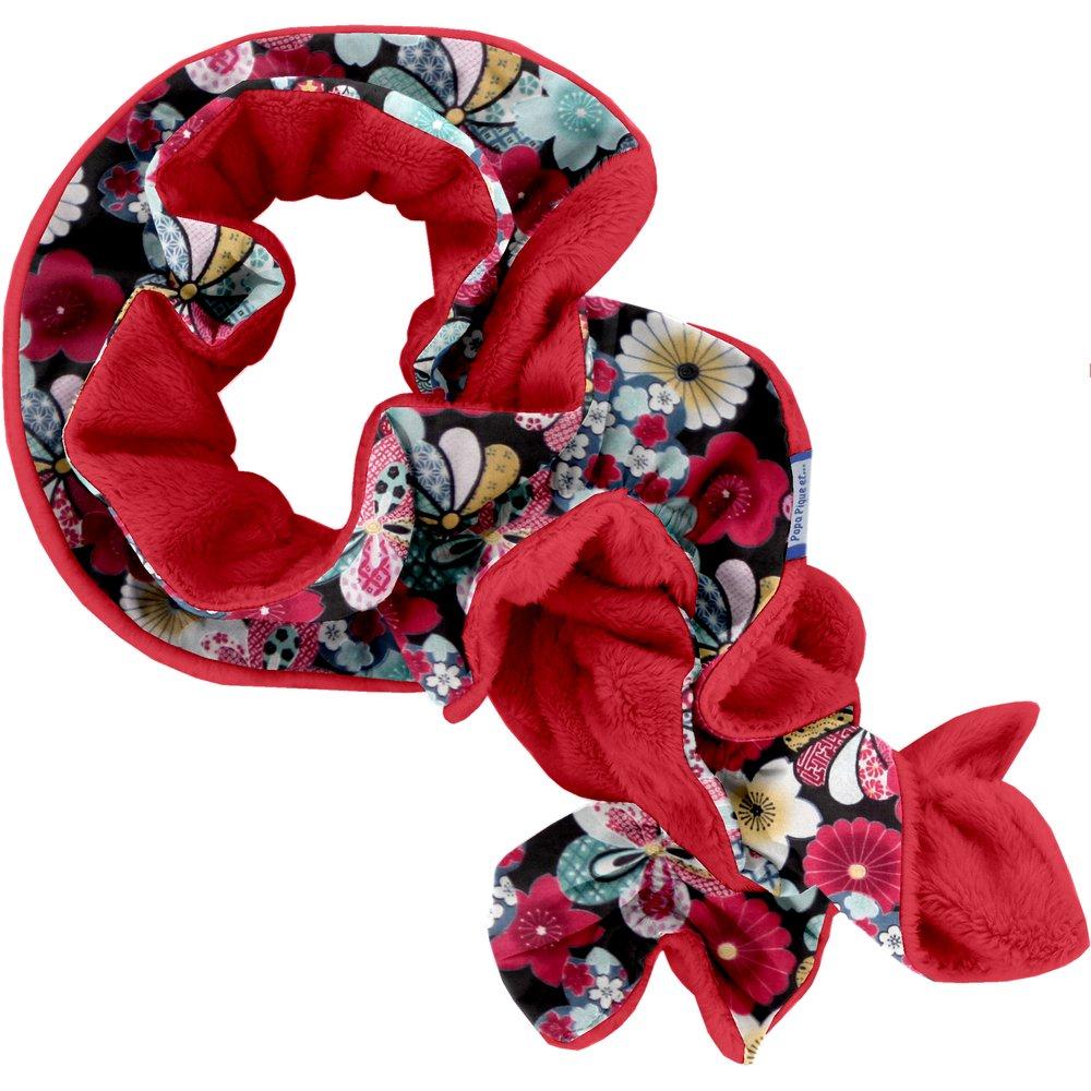 Echarpe polaire fleurs du mékong