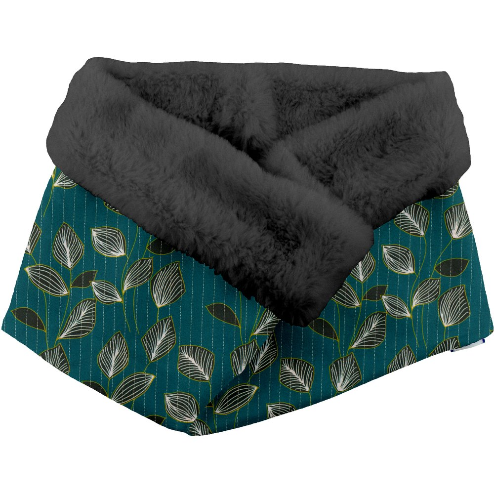 Fleece scarf snood   végétalis