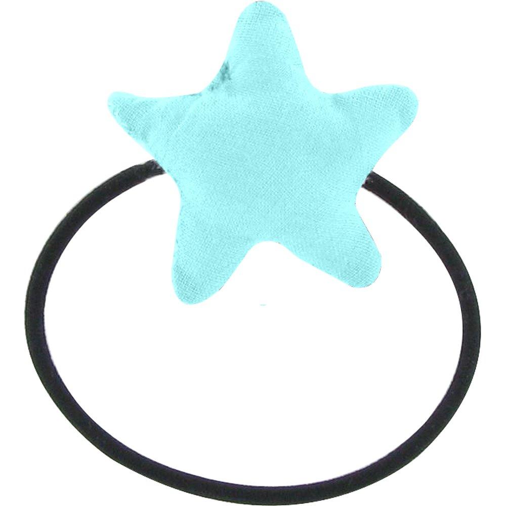Elastique cheveux étoile azur