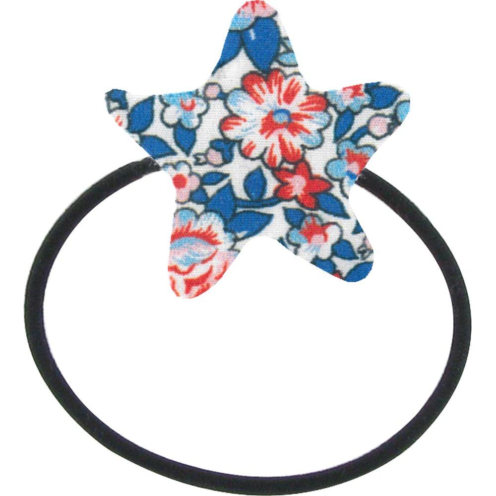 Elastique cheveux étoile london fleuri