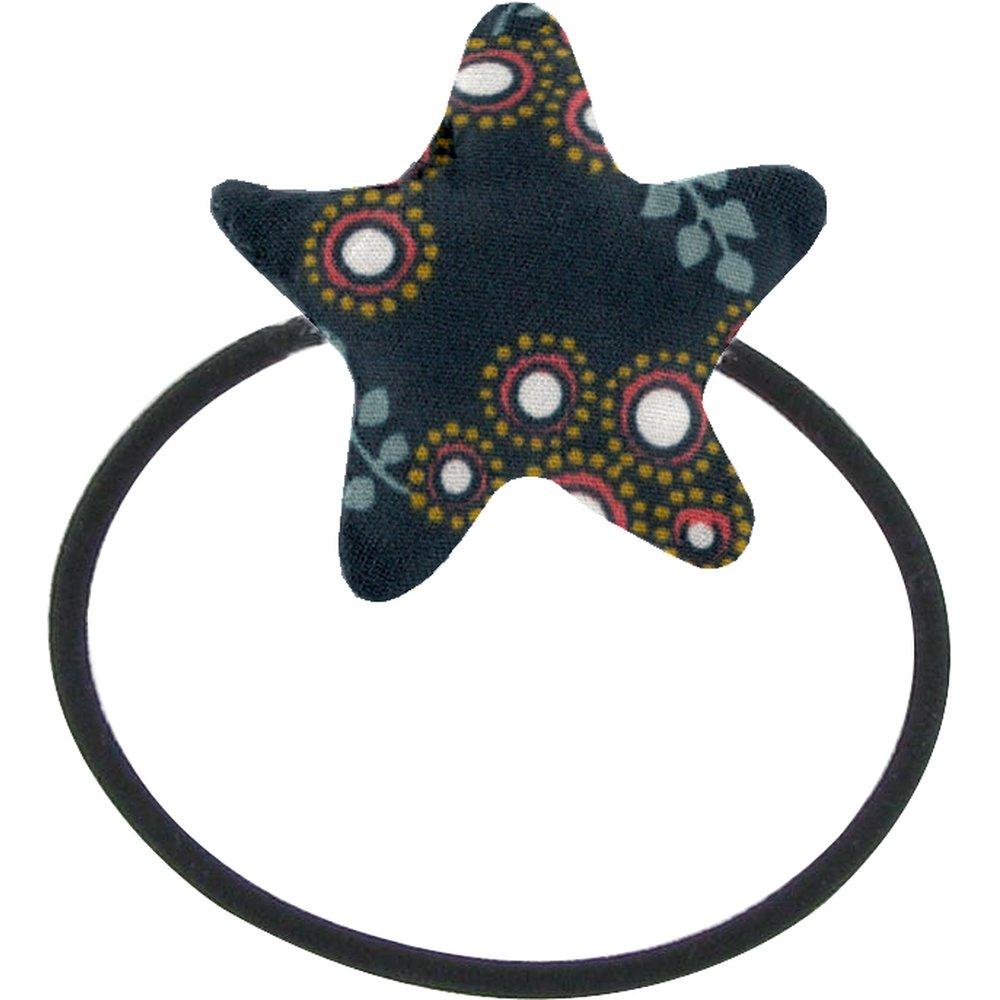 Pony-tail elastic hair star fireflies