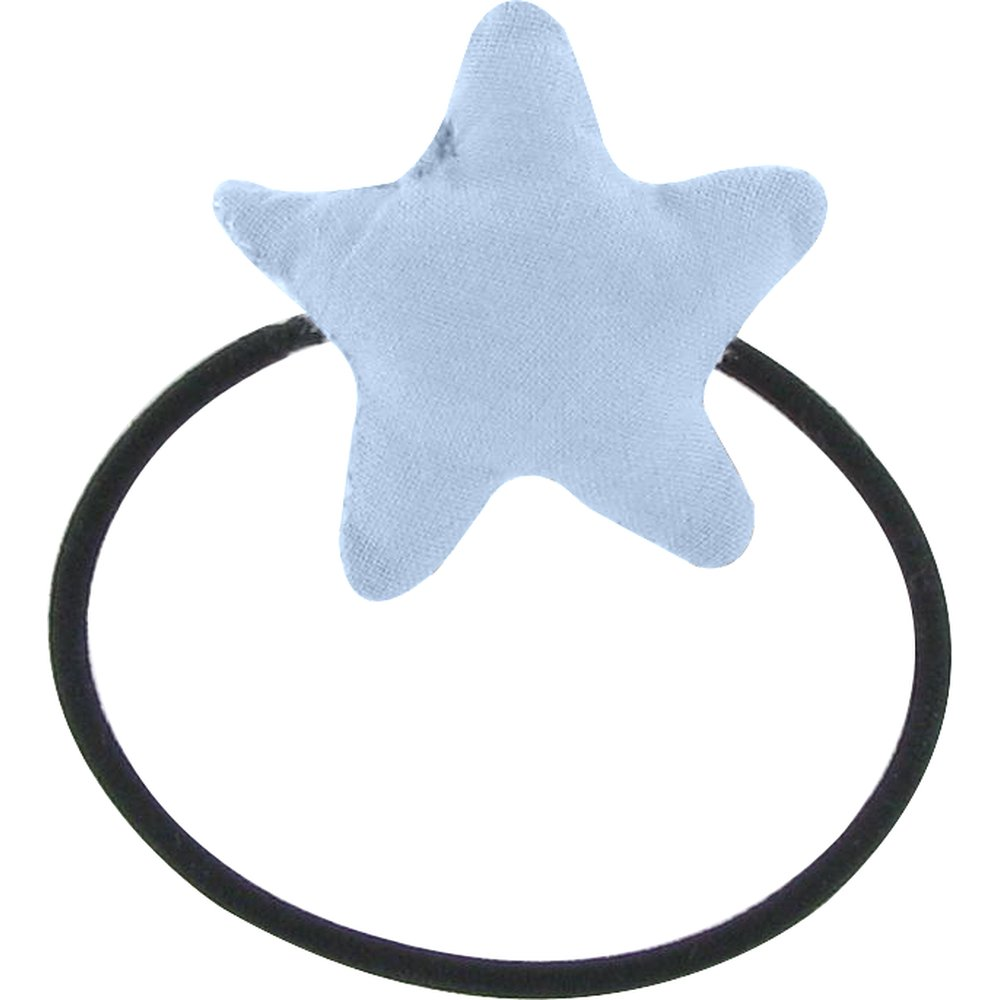 Pony-tail elastic hair star oxford blue