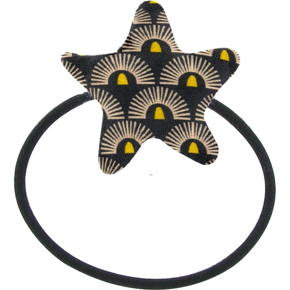 Pony-tail elastic hair star inca sun