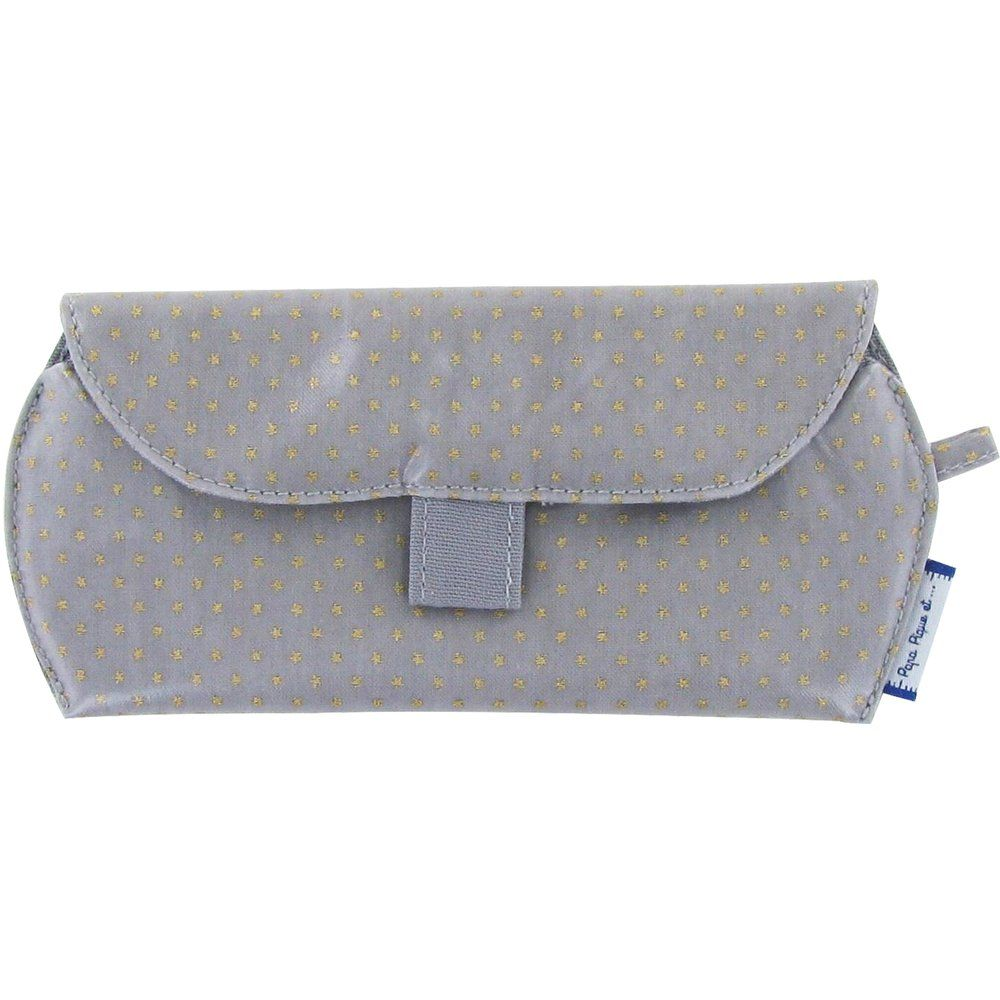 Glasses case etoile or gris