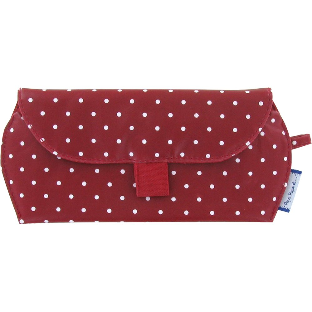 Glasses case red spots