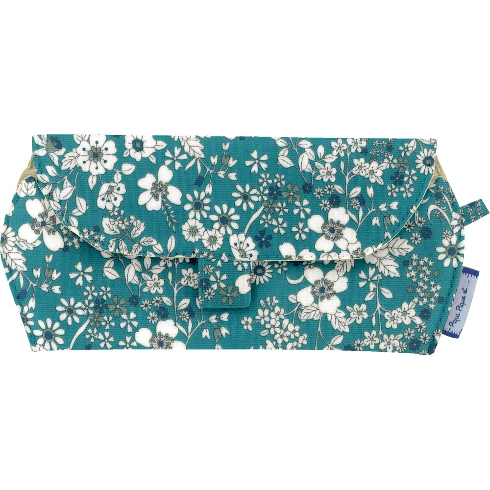 Glasses case celadon violette