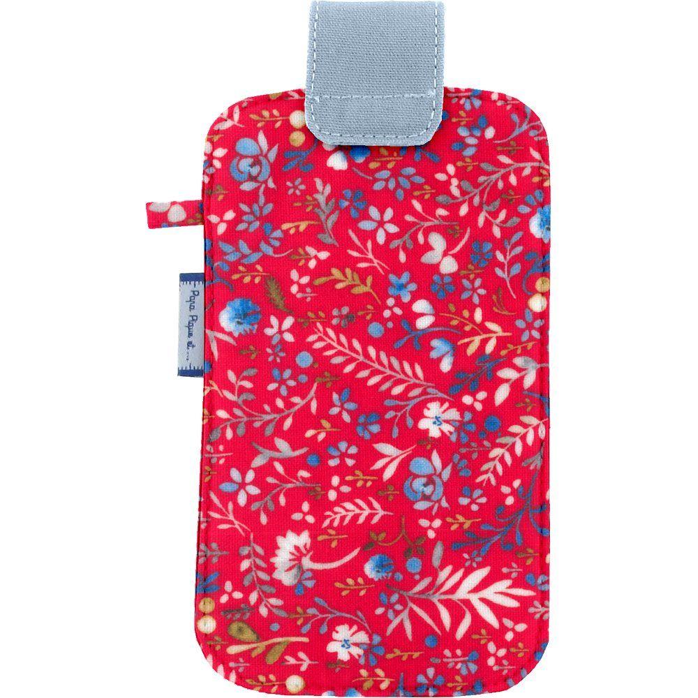 Etui téléphone portable bleuets cherry