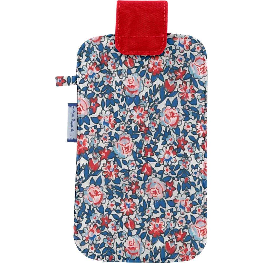 Etui téléphone portable london fleuri