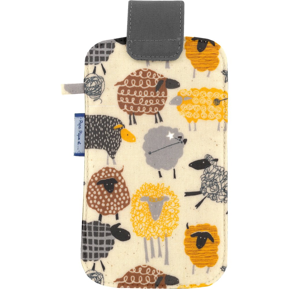 Big phone case yellow sheep