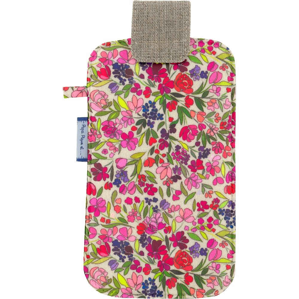 Big phone case purple meadow