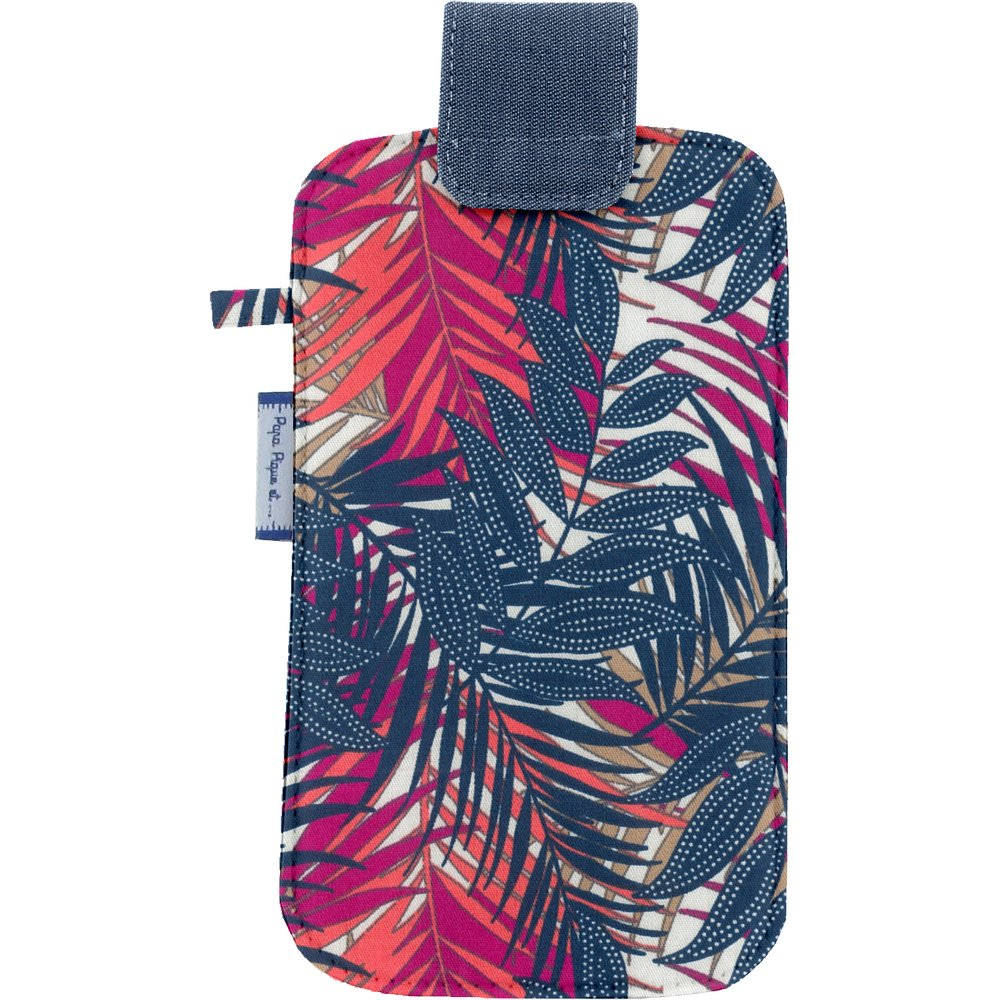 Etui téléphone portable tropical fire