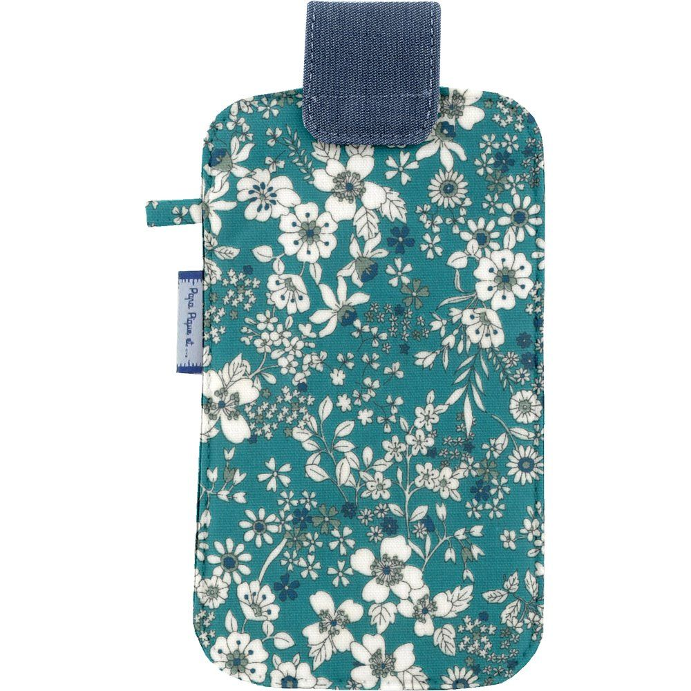 Etui téléphone portable violette céladon