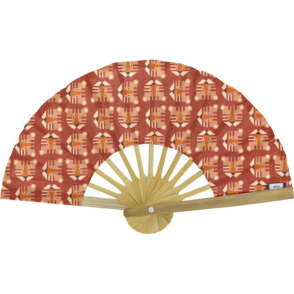 Hand-held fan géotigre