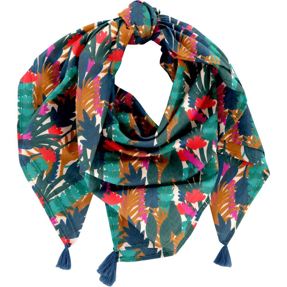 Foulard pompon canopée