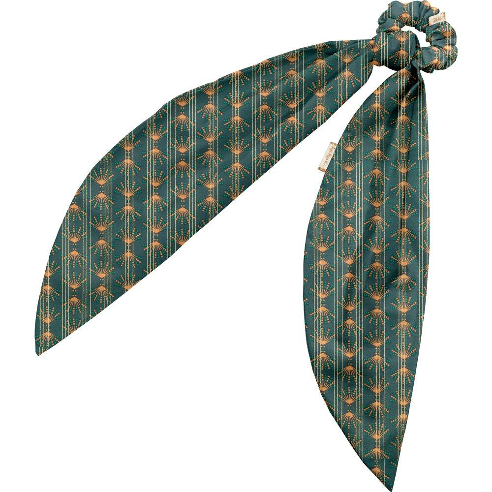 Foulchie eventail or vert