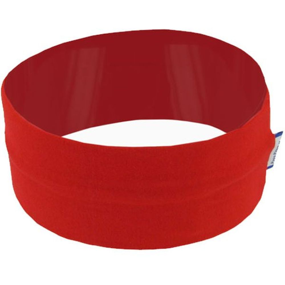 Stretch jersey headband  red b6