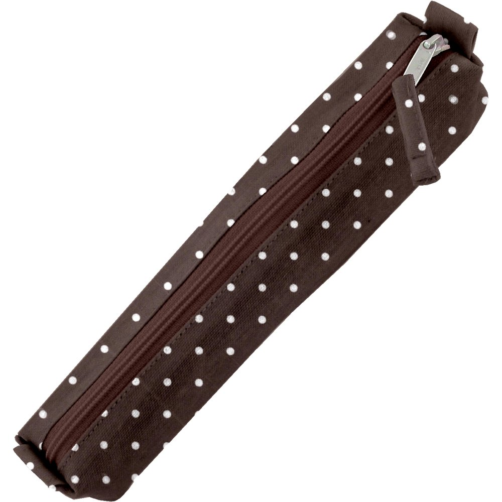 Mini pencil case brown spots
