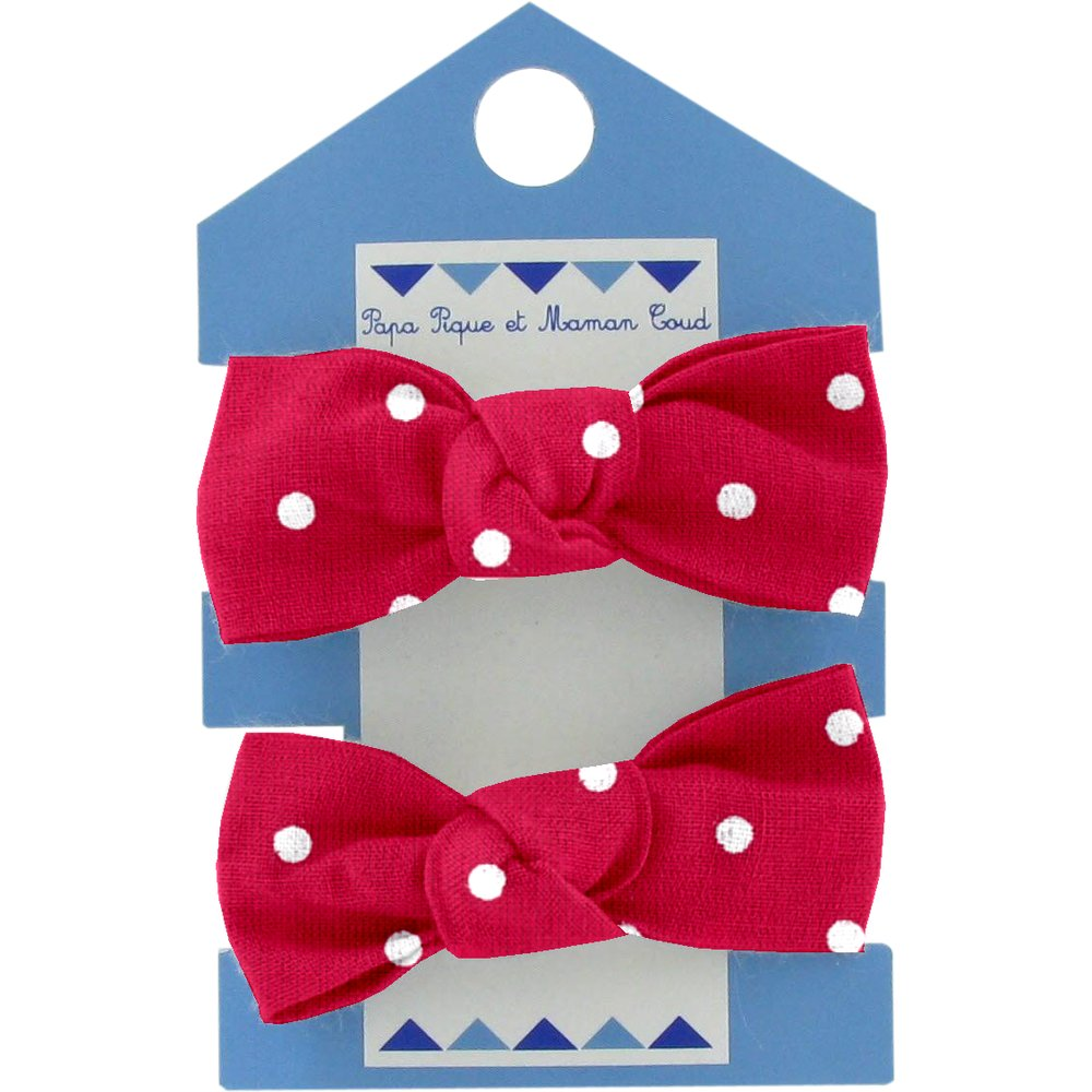 Small elastic bows red spots