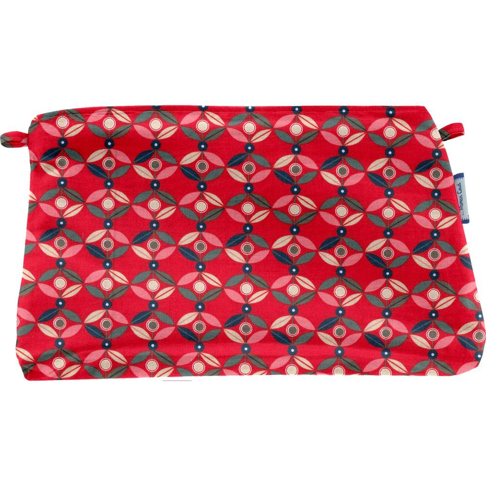 Coton clutch bag paprika petal