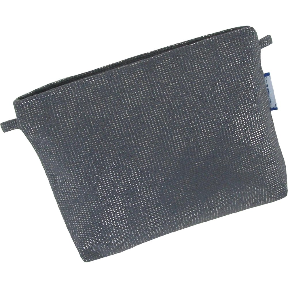 Tiny coton clutch bag silver gray