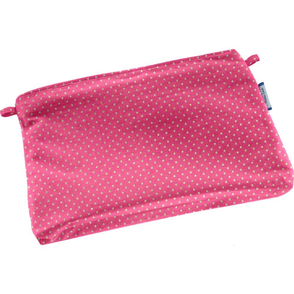 Tiny coton clutch bag etoile or fuchsia