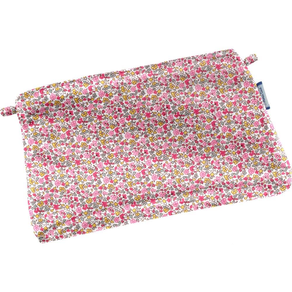 Mini pochette coton jasmin rose