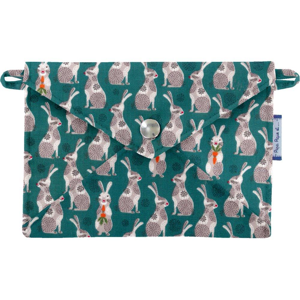 Pequeña bolsa carterilla  conejito