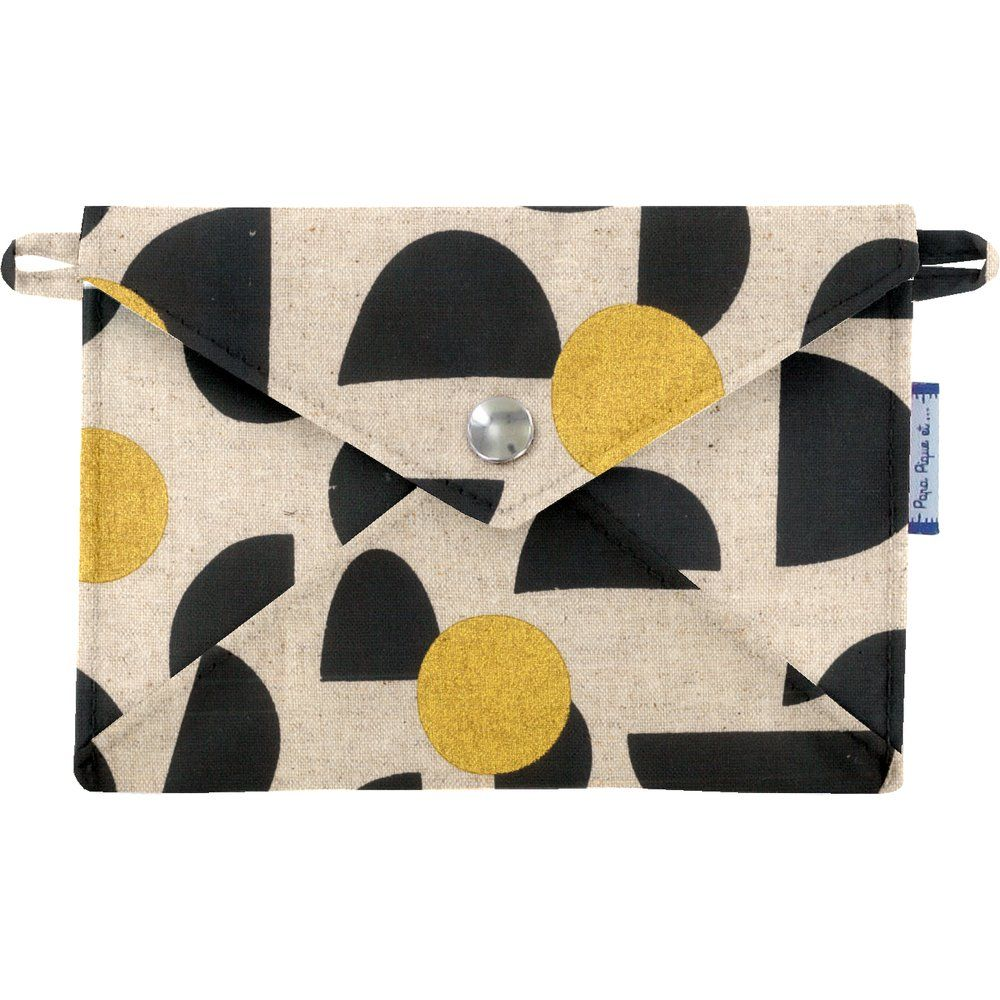 Little envelope clutch golden moon