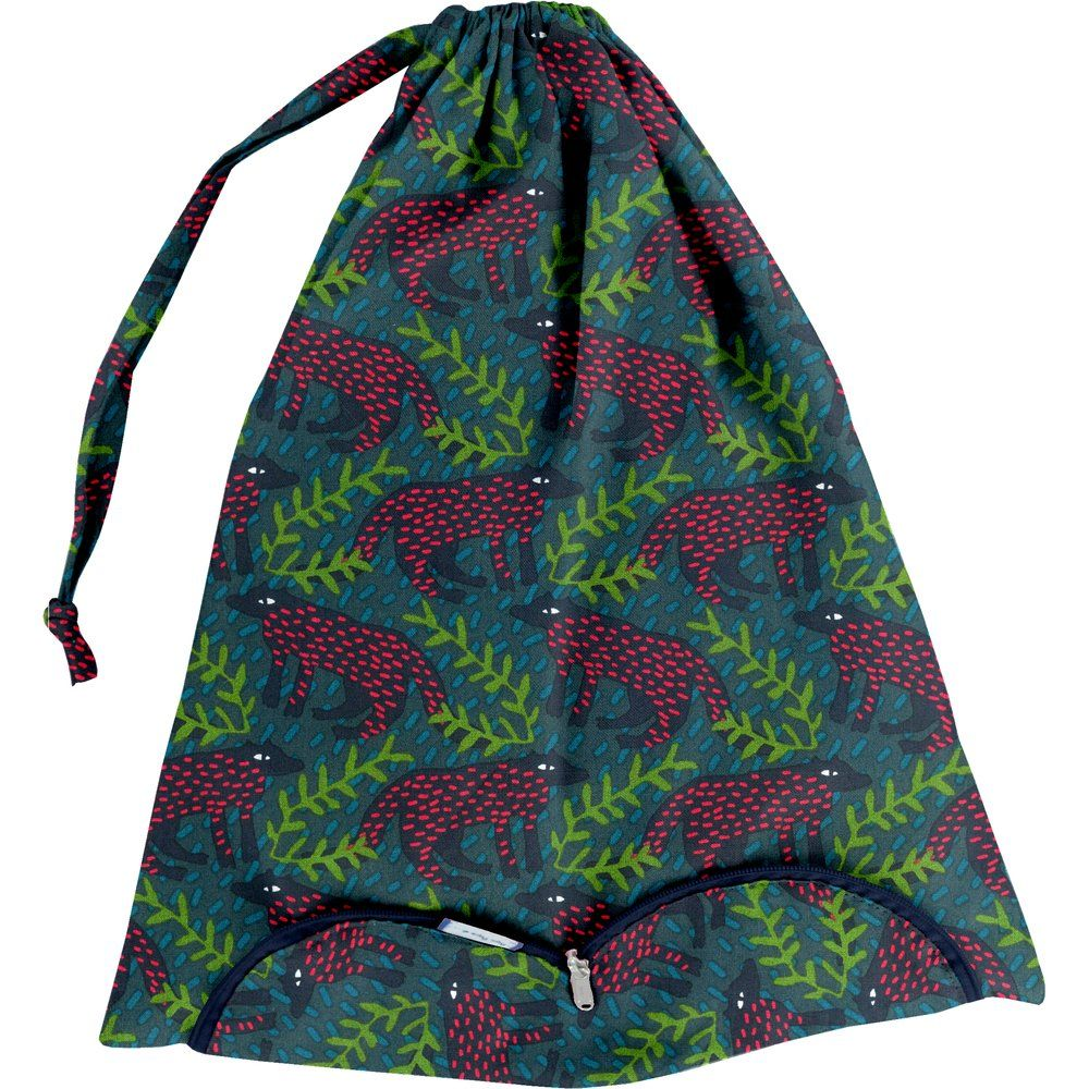 Lingerie bag wolf of the woods
