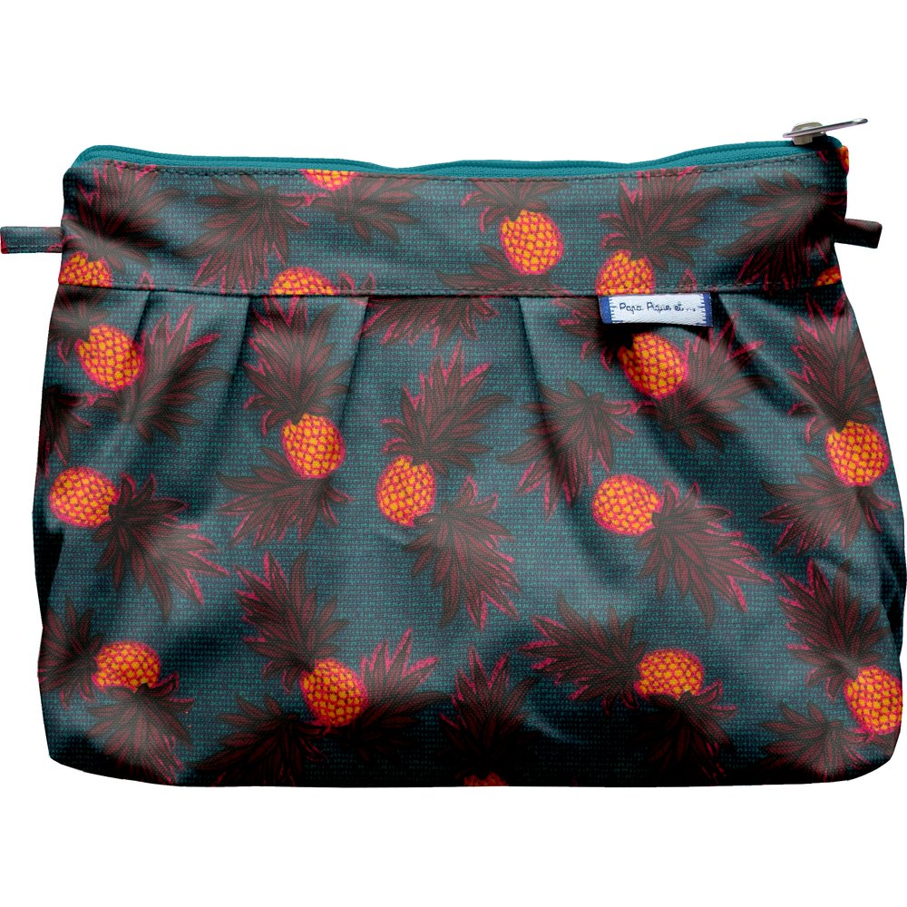 Pochette plissée  ananas party