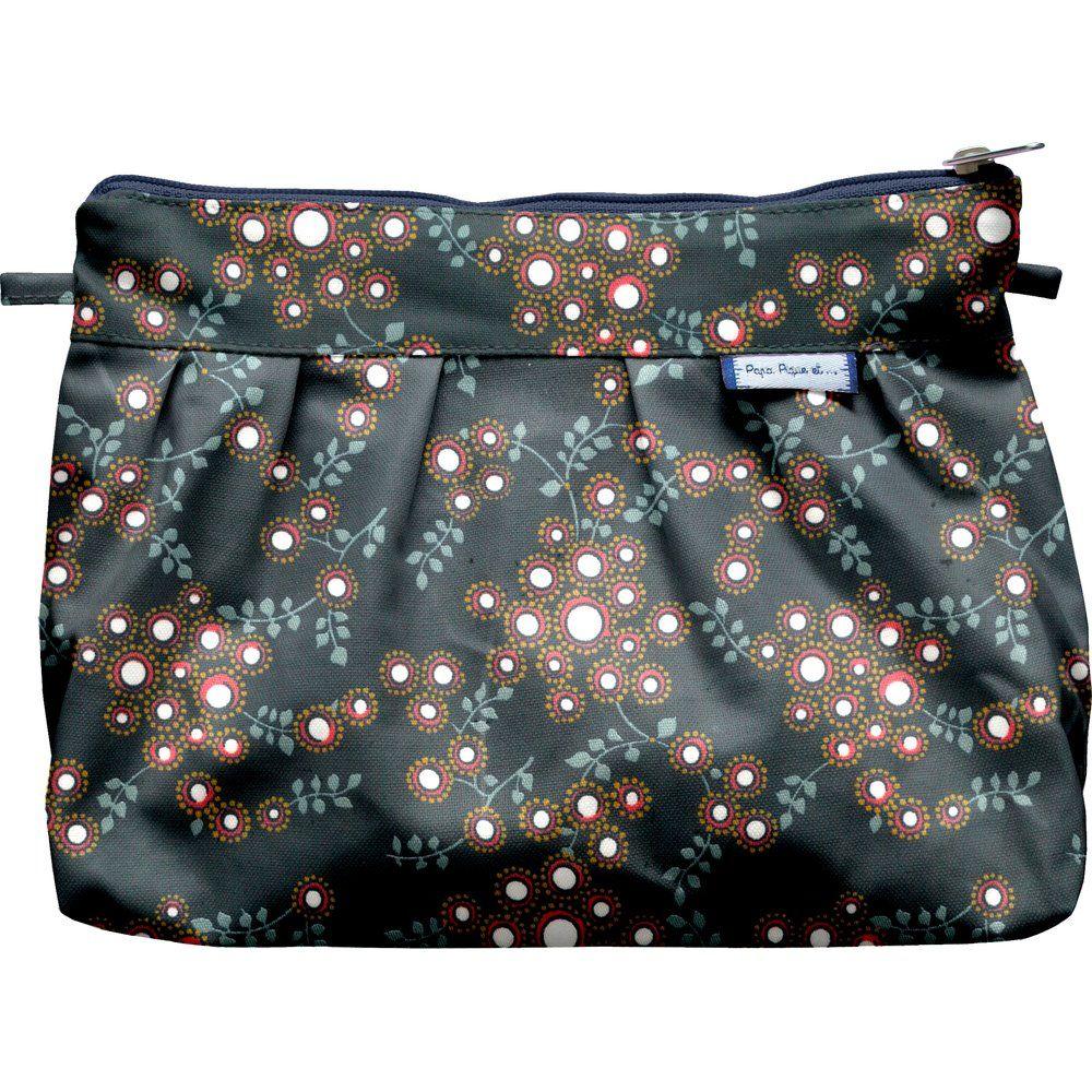 Pleated clutch bag fireflies