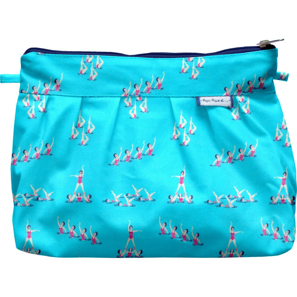 Pleated clutch bag swimmers