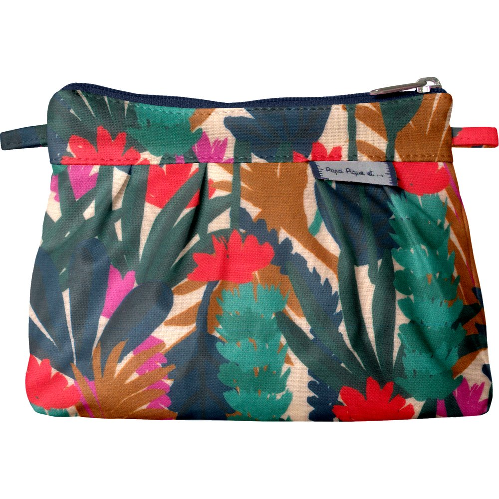 Mini Pleated clutch bag canopée