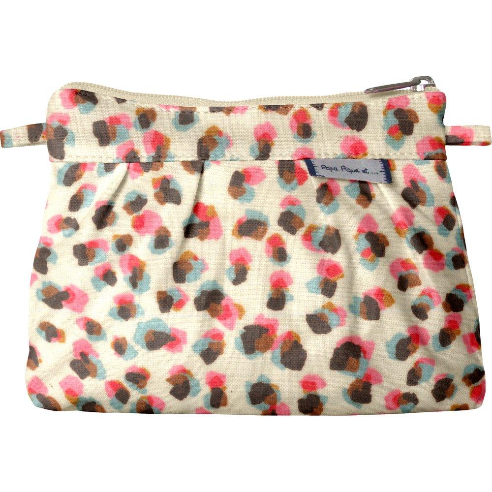 Mini Pleated clutch bag confetti aqua
