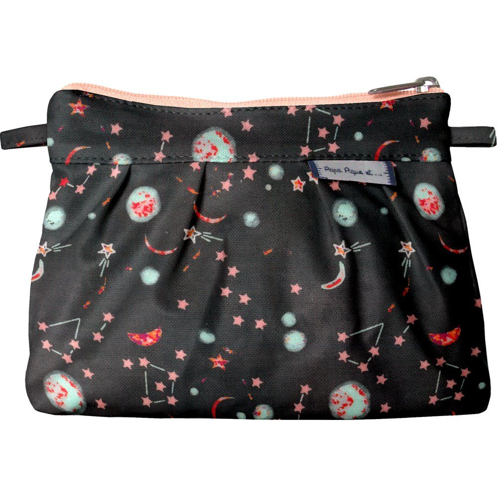 Mini Pleated clutch bag constellations