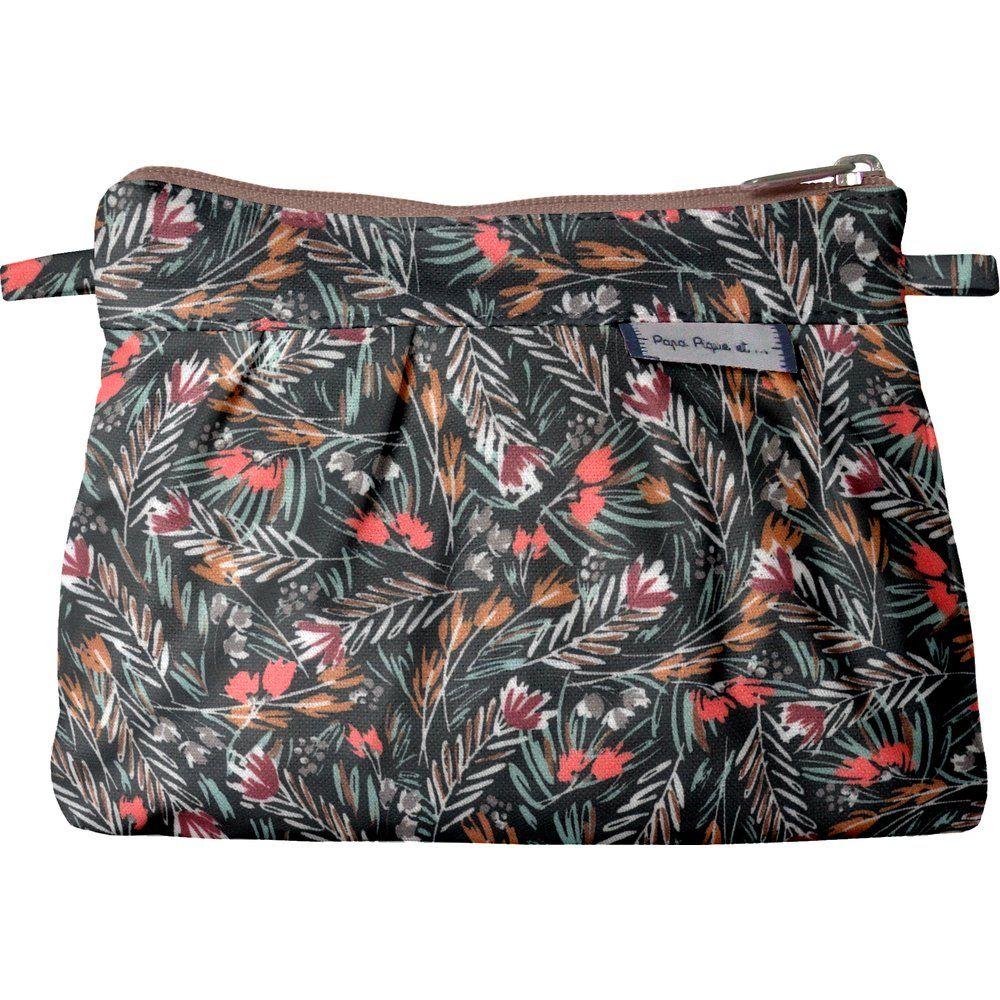 Mini Pleated clutch bag grasses
