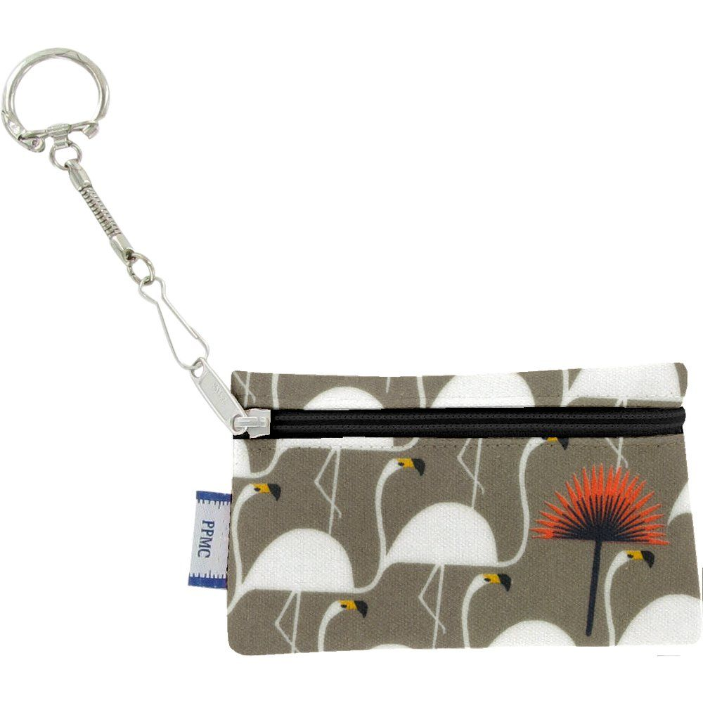 Keyring  wallet flamingo