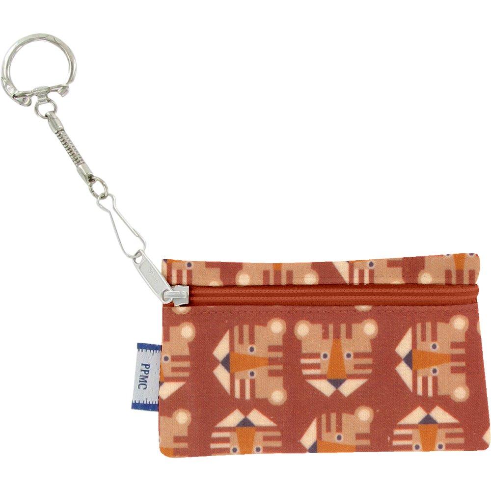 Pochette porte-clés géotigre